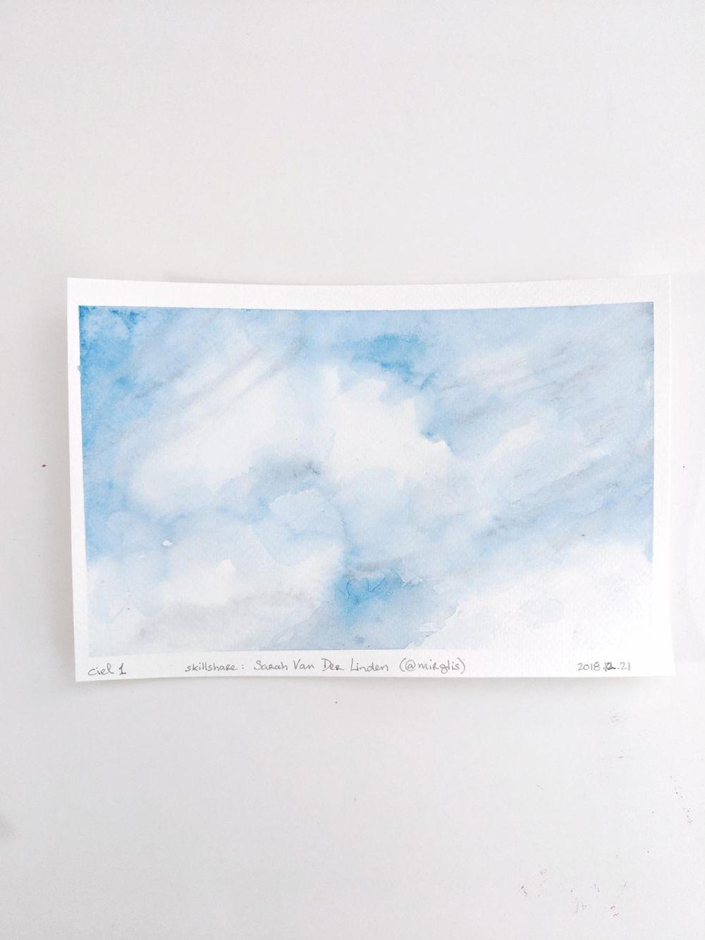 Ciels avec Sarah - image 5 - student project