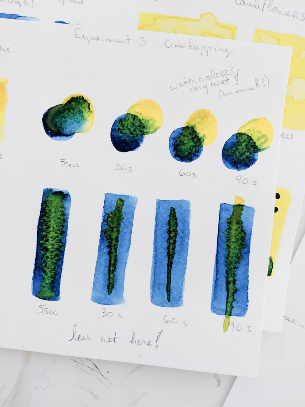 Experiments in watercolors with Ohn Mar Win - image 4 - student project