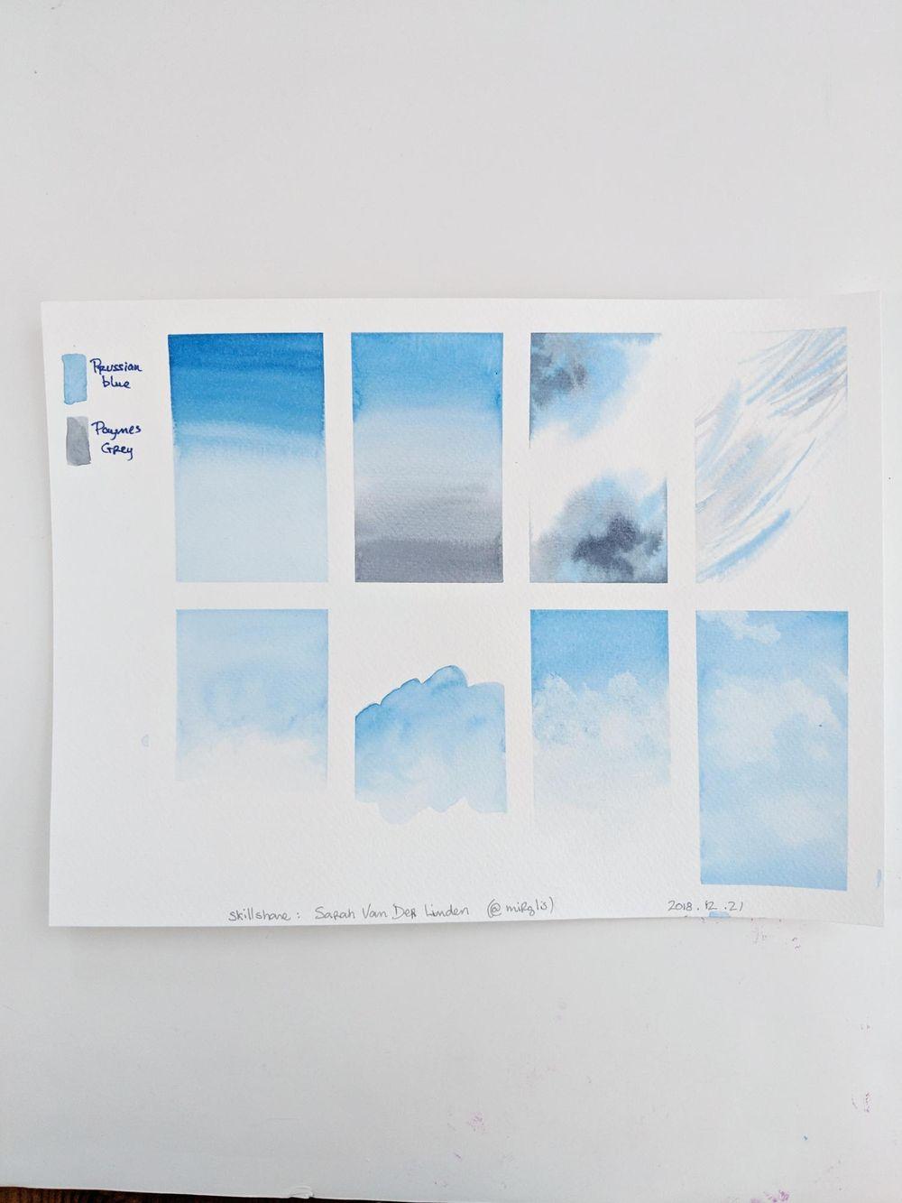 Ciels avec Sarah - image 2 - student project