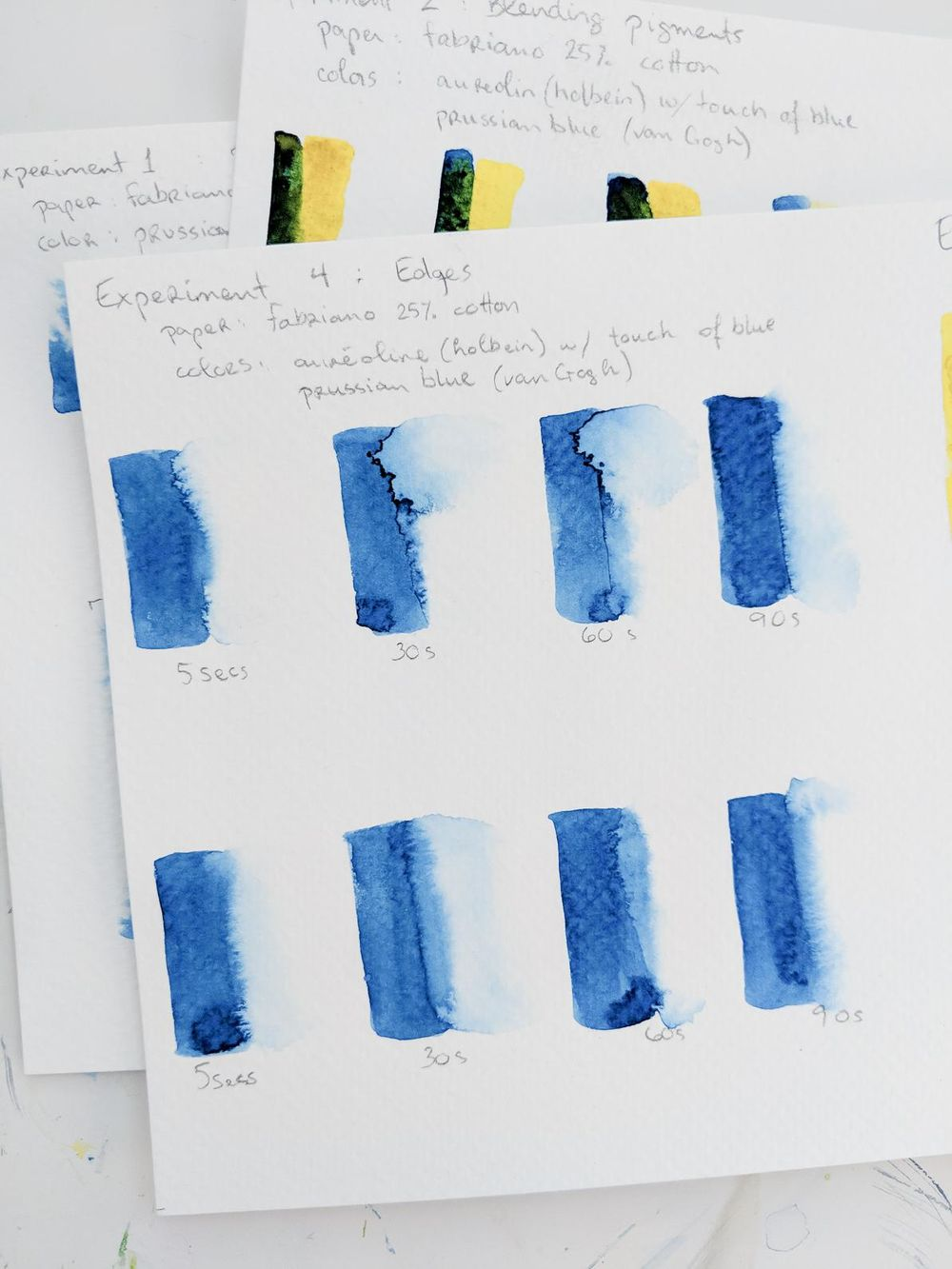 Experiments in watercolors with Ohn Mar Win - image 5 - student project