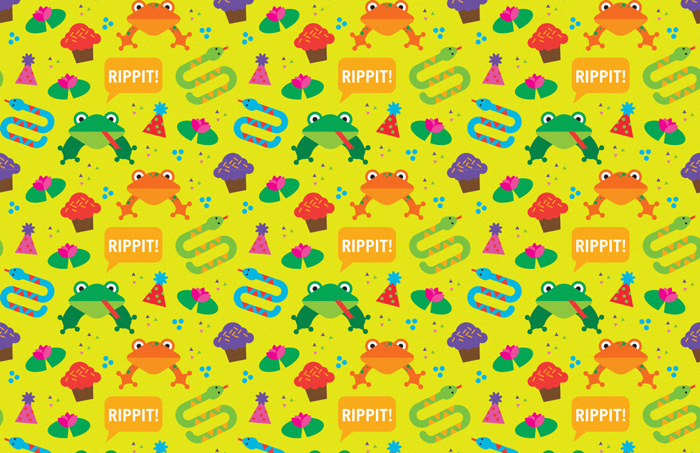 Frog Party - image 1 - student project