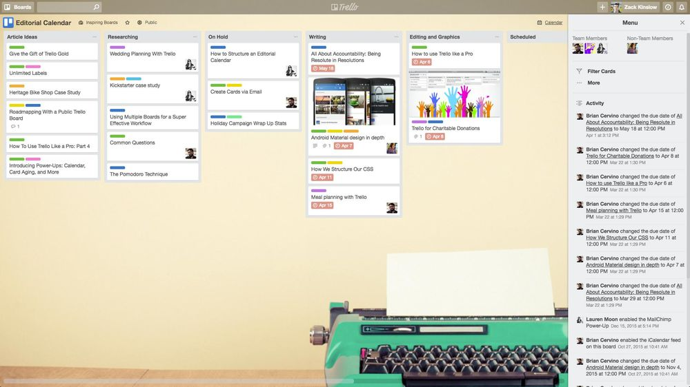 My productivity system - image 2 - student project