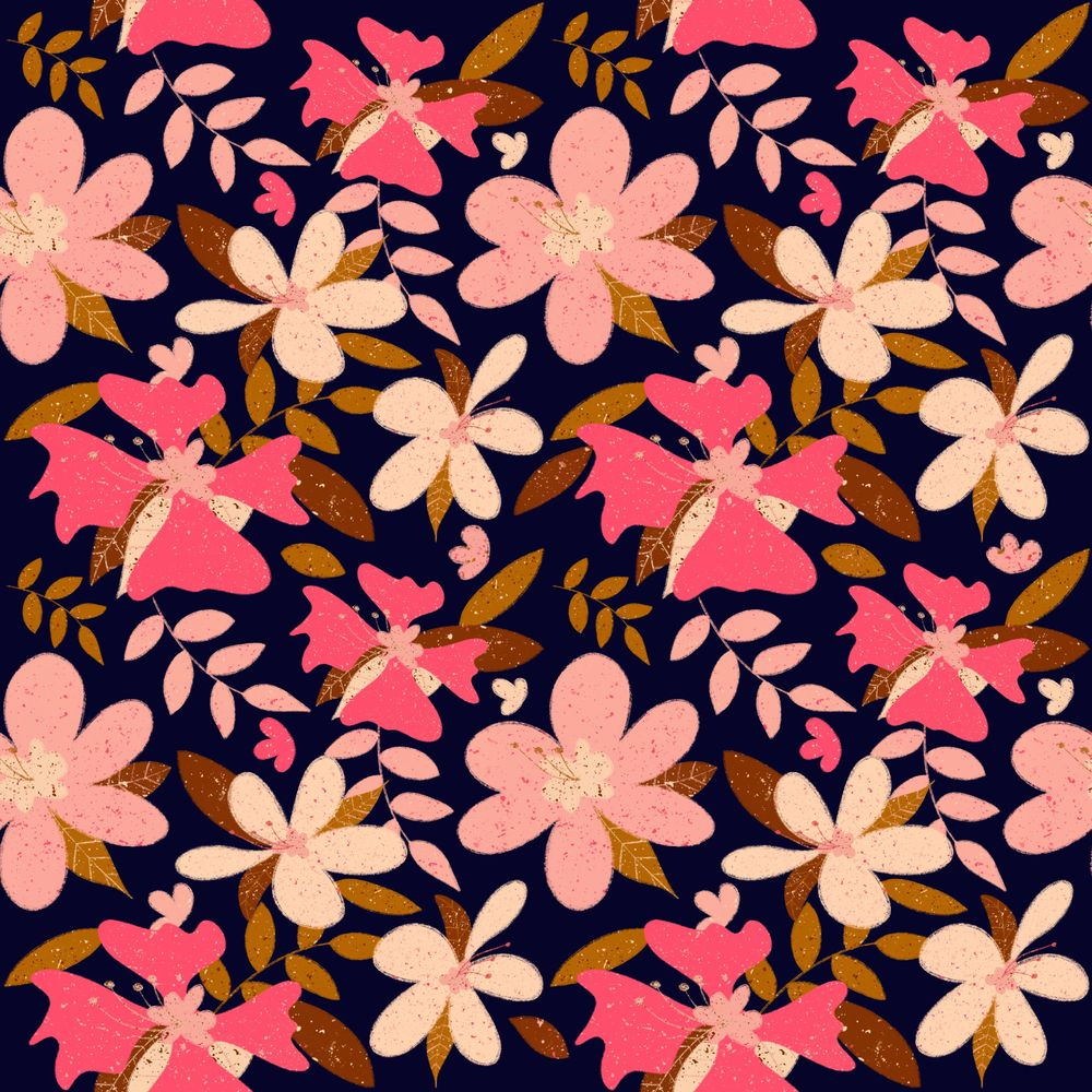 Drawing Seamless Patterns in Procreate - image 3 - student project