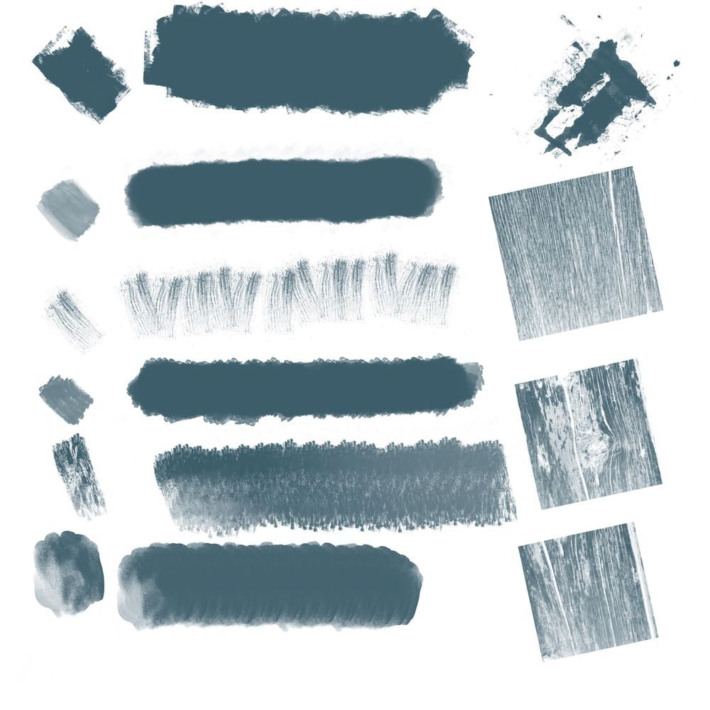 My brushes and stamps - image 1 - student project