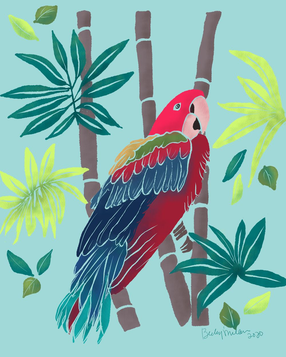 Feathers and Bamboo - image 1 - student project