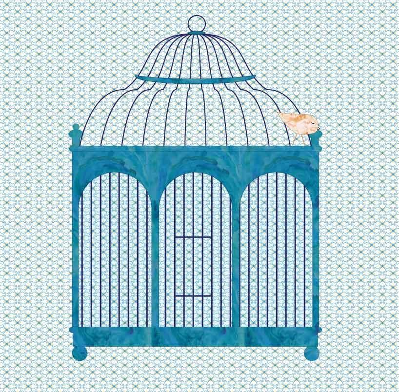 Vintage Birdcage - image 1 - student project