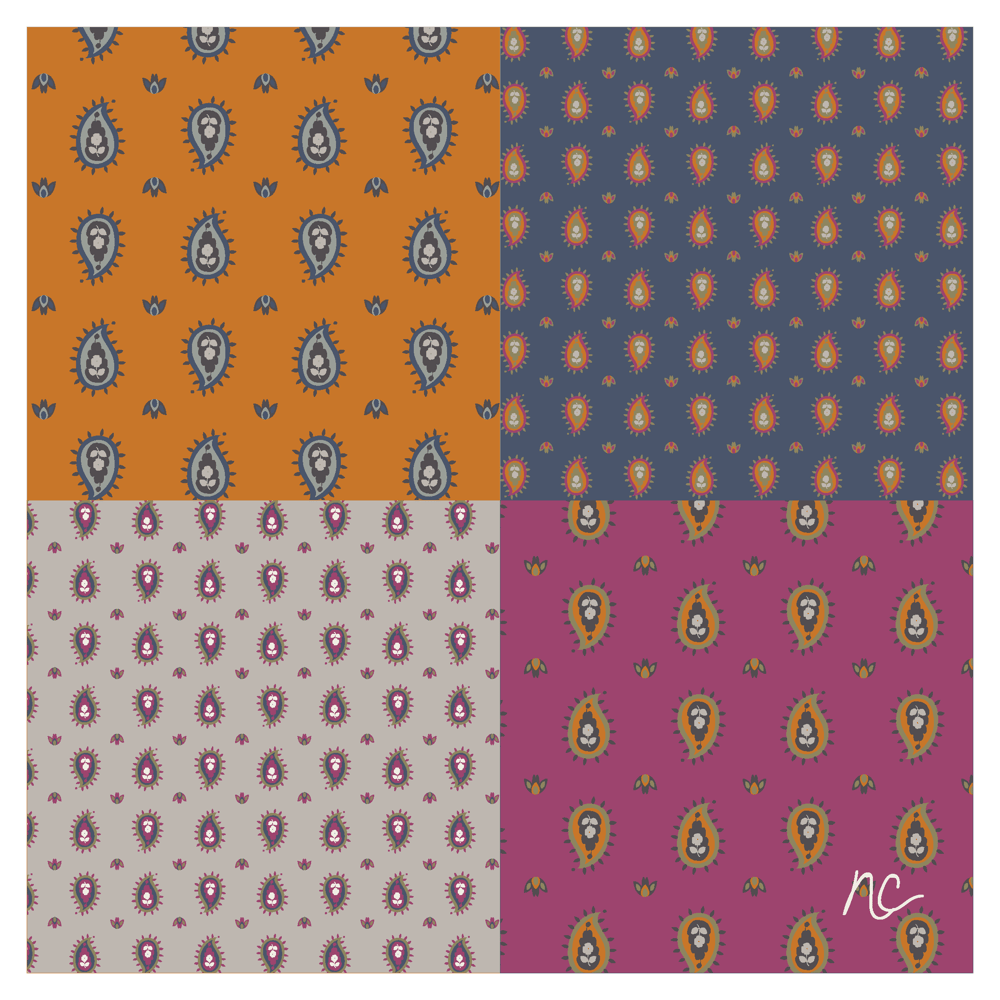 a new color palette and repeating pattern - image 3 - student project