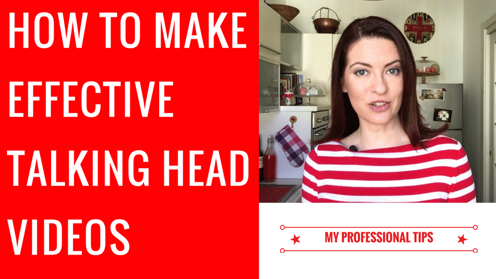 Marketing HOW TO MAKE EFFECTIVE TALKING HEAD VIDEOS! - image 1 - student project