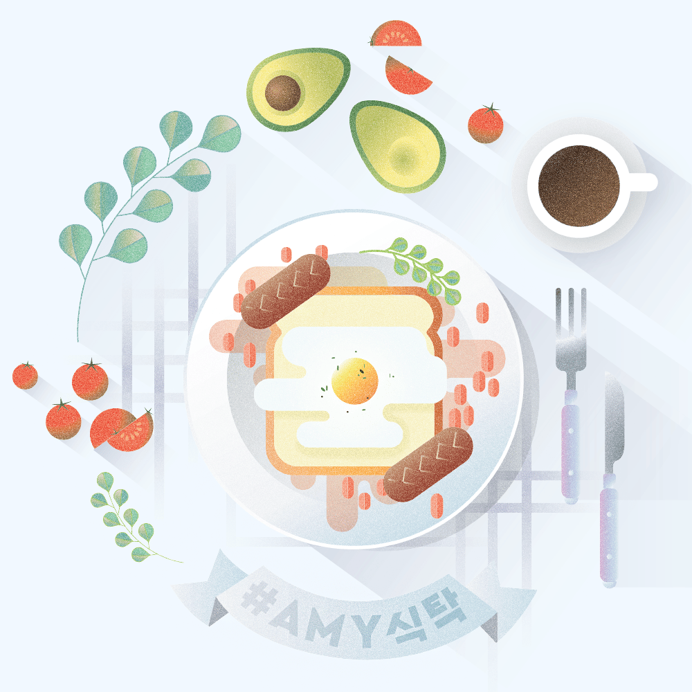 Amy's table ( a.k.a #Amy식탁 ) - image 4 - student project