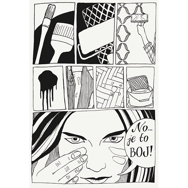 Ink comics and more - image 1 - student project
