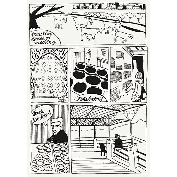 Ink comics and more - image 3 - student project