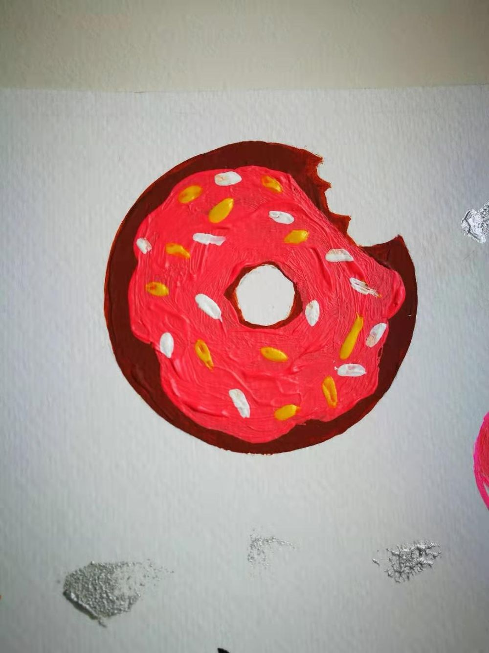 Palm leaf and donut inspired by CatCoq class - image 1 - student project