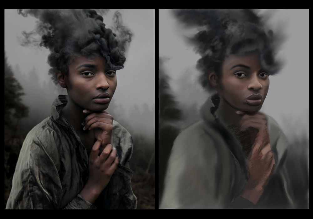 My portraits - image 3 - student project