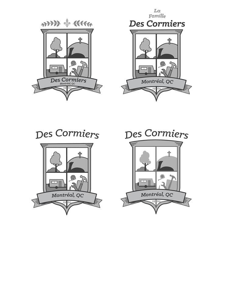 Des Cormiers Family Crest - image 2 - student project