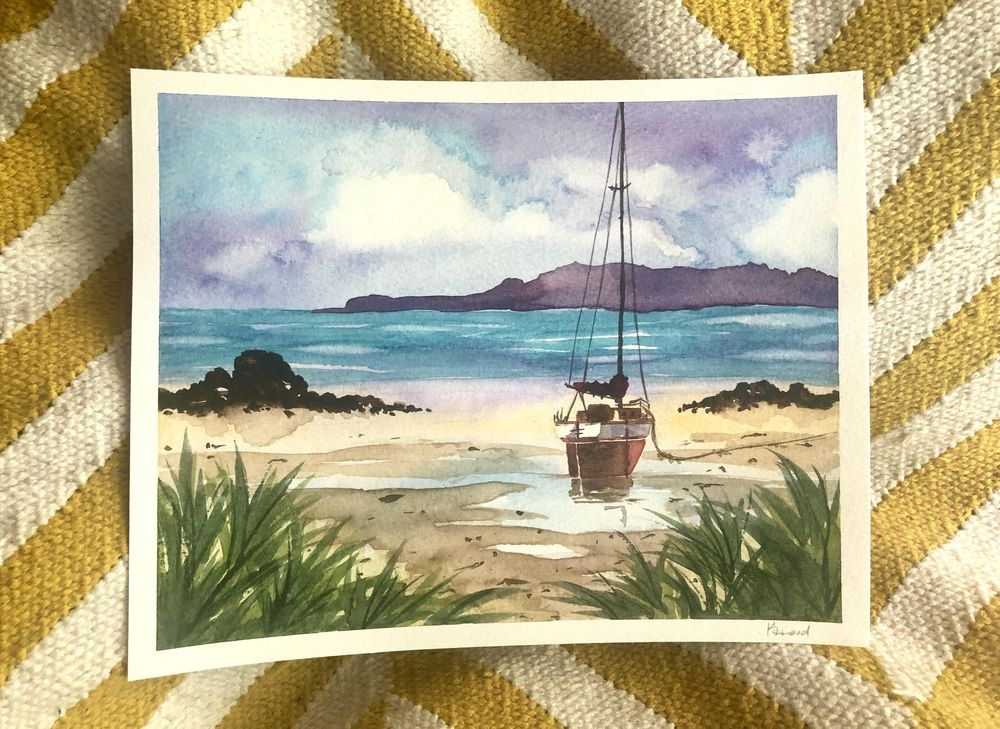 Painting Boats - image 1 - student project