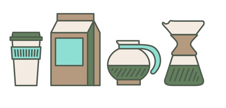 Coffee Icons - image 1 - student project