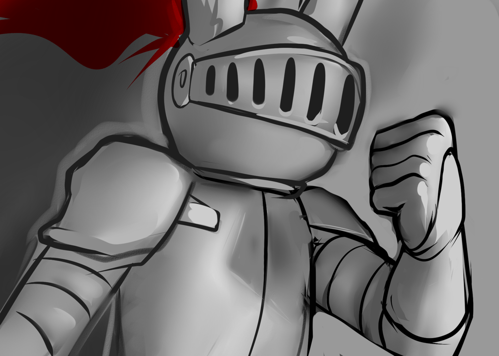 brave knight - image 6 - student project
