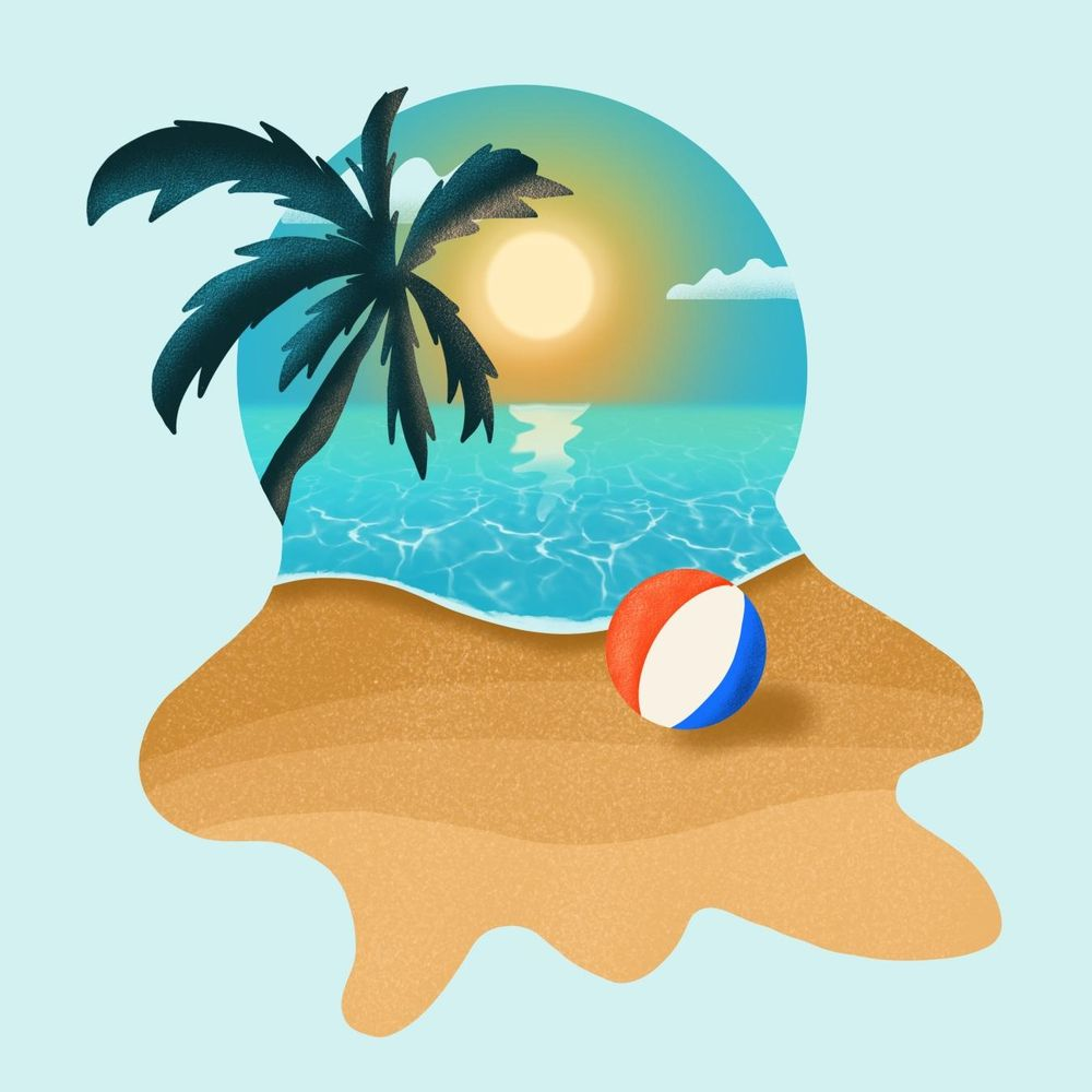 Day at the beach - image 2 - student project