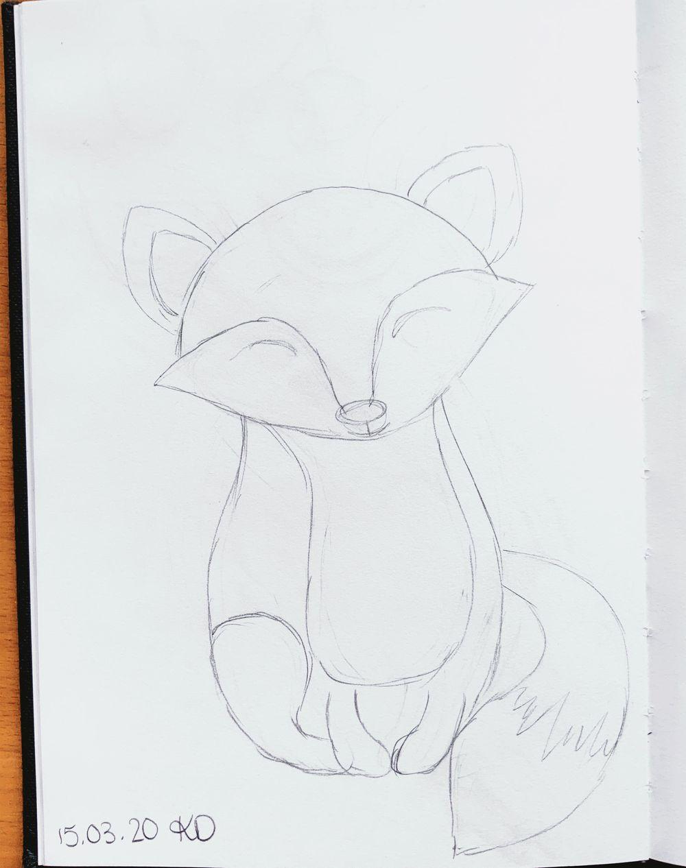 Little Lomri (fox) - image 3 - student project