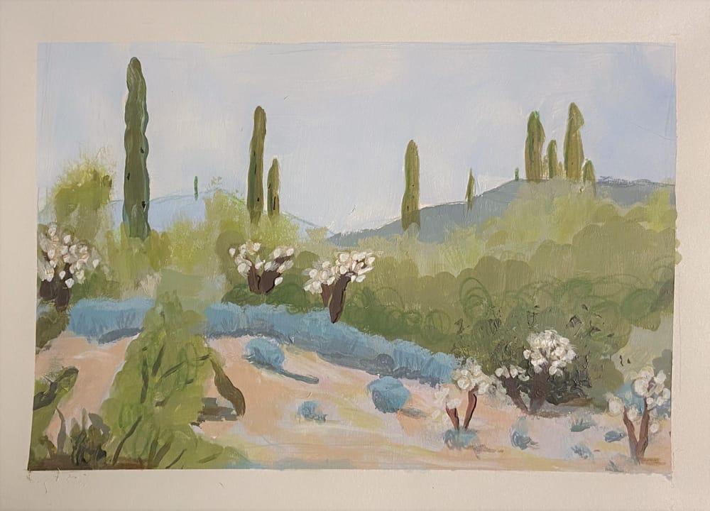 Desert Landscape Attempt - image 1 - student project