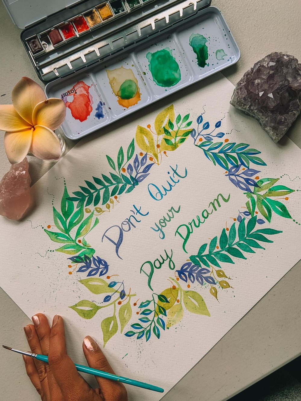 Botanical Frame - image 1 - student project