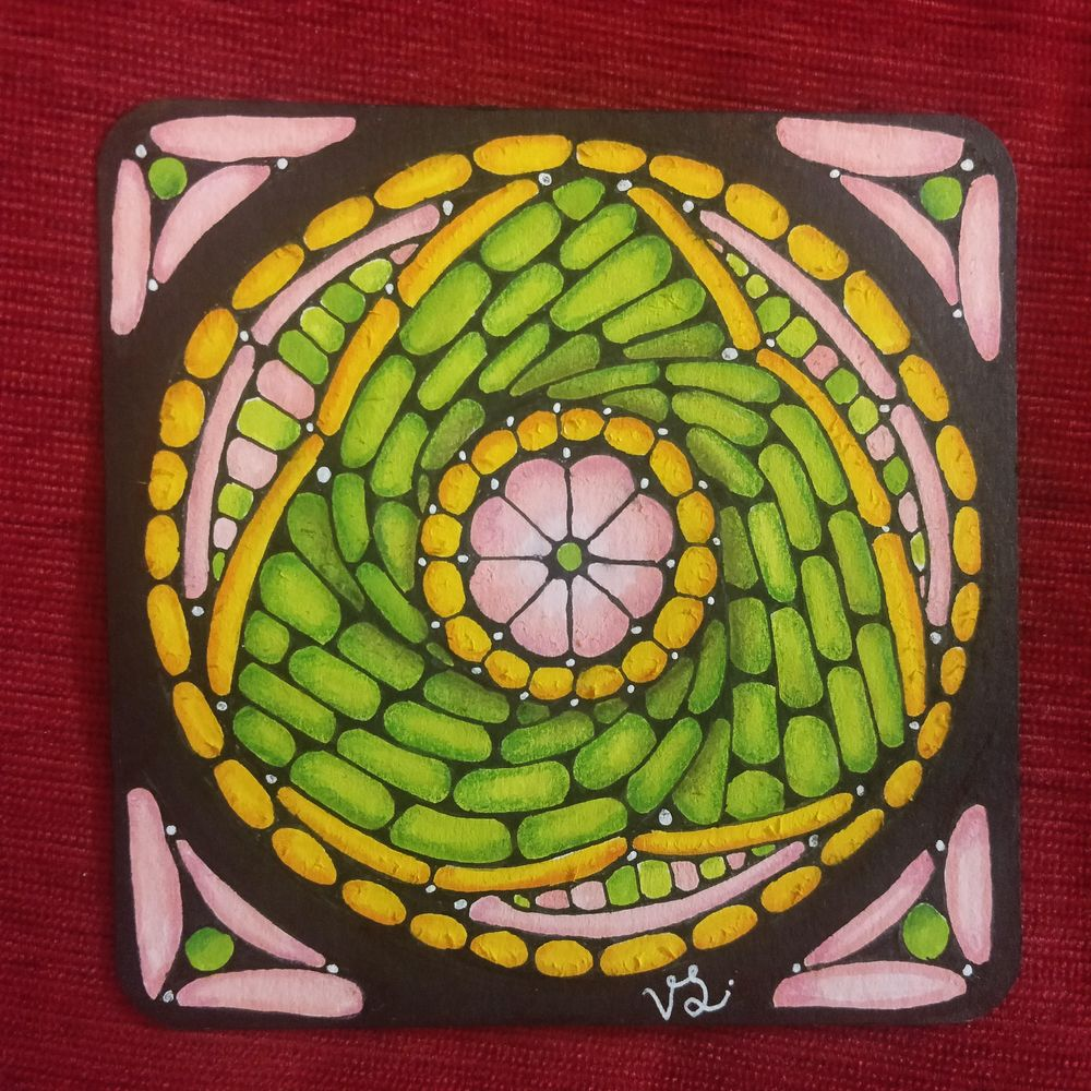 Stained Glass Effect Tangling - image 1 - student project