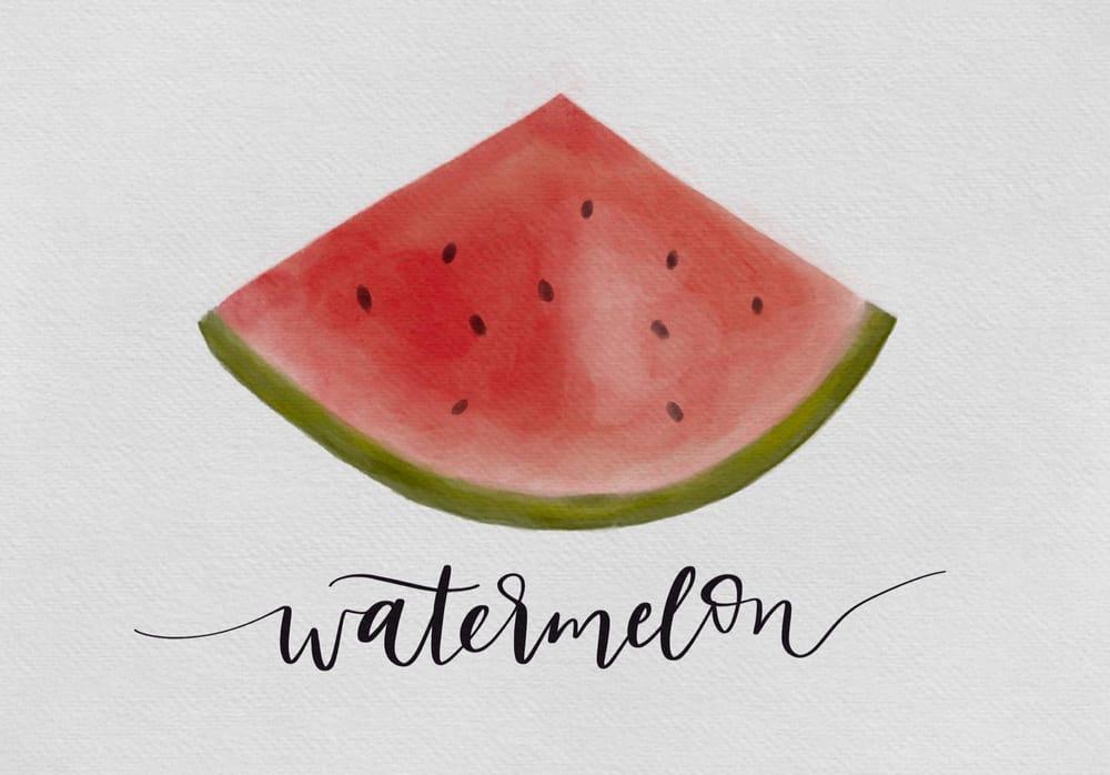 Watermelon & Avocado! - image 1 - student project