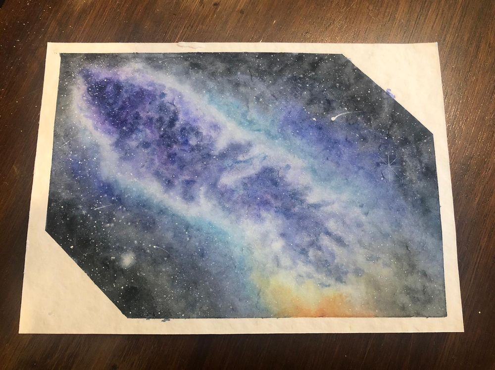 Milky Way Galaxies - image 2 - student project