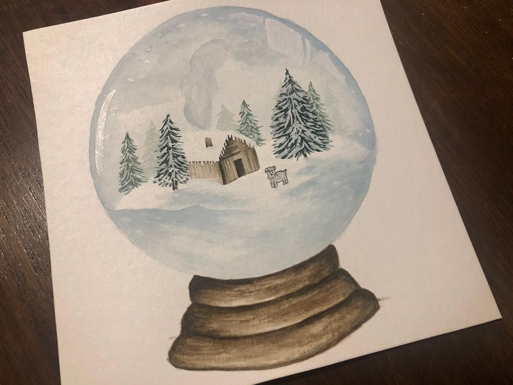 Winter themed Snow Globes - image 4 - student project