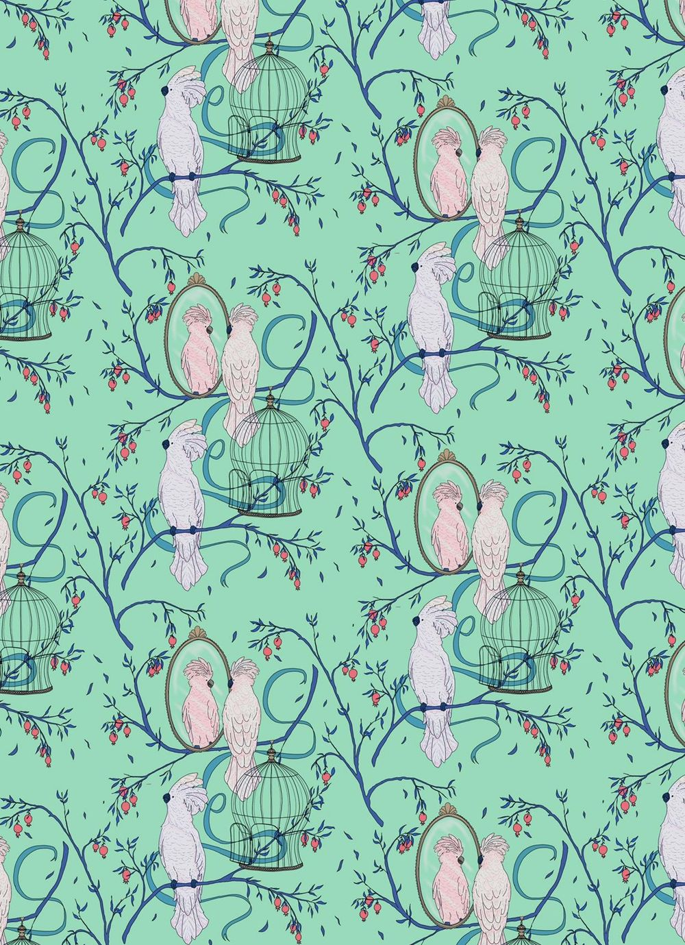 Cockatoo pattern - image 4 - student project