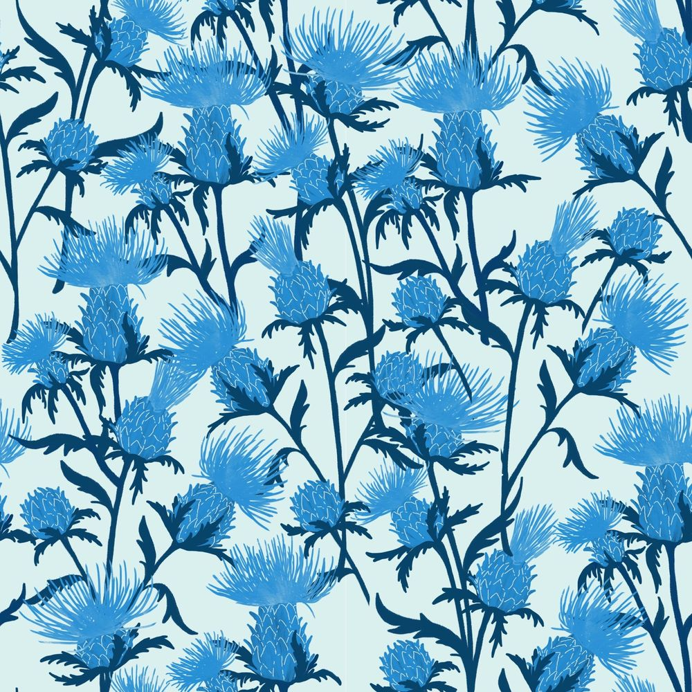 Thistle pattern - image 1 - student project