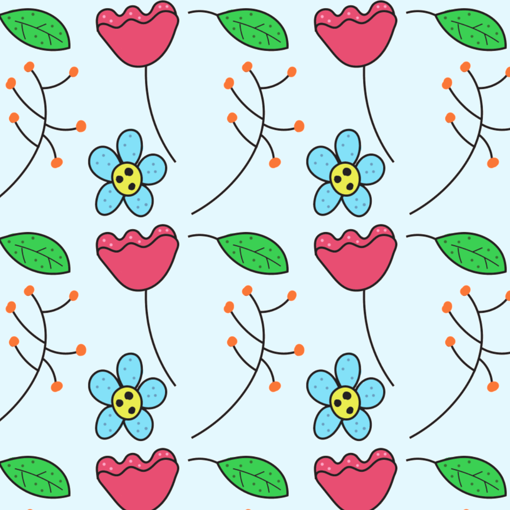 Doodle Patterns - image 1 - student project