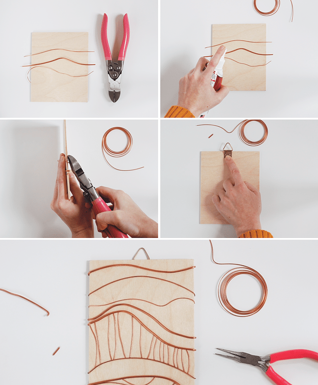 DIY Abstract Copper Artwork - image 3 - student project