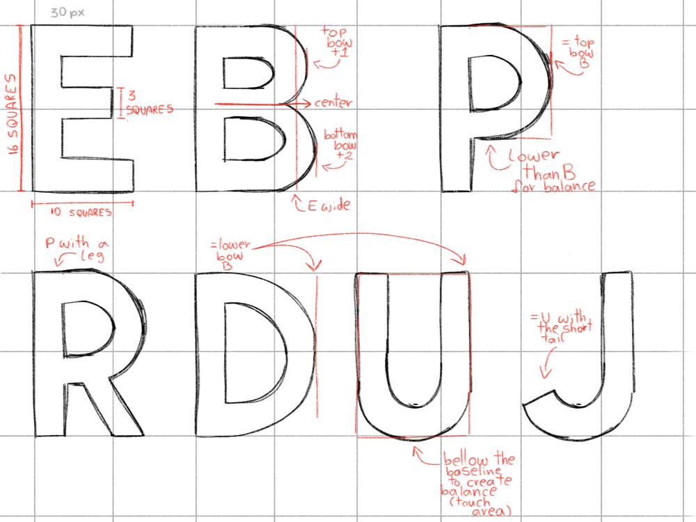 Practicing Letters - image 2 - student project