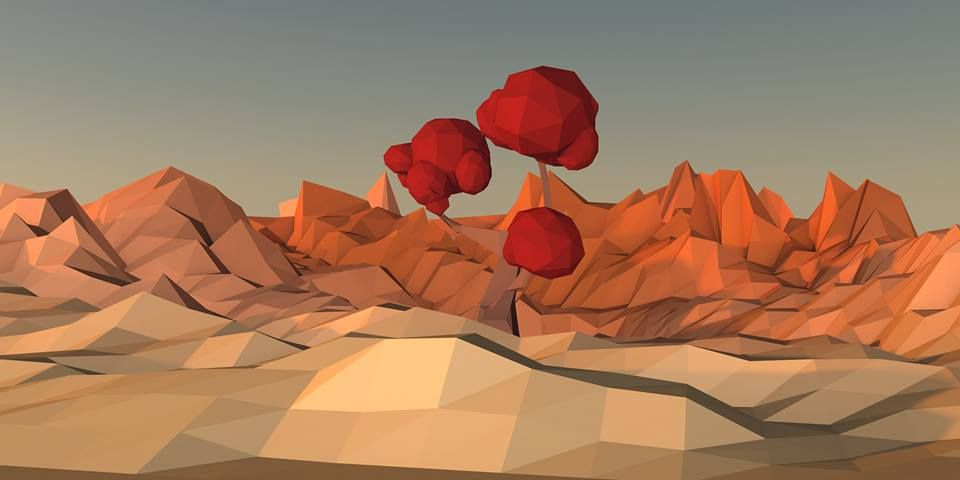 Low Poly Tree - image 1 - student project