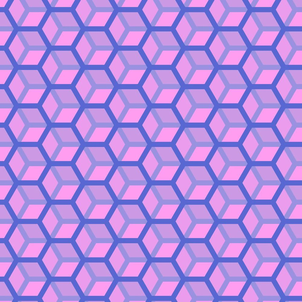 Winterskyhexagons - image 2 - student project