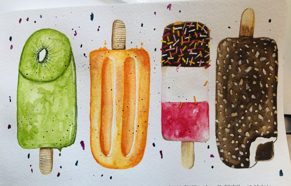 Ice Lollies - image 2 - student project