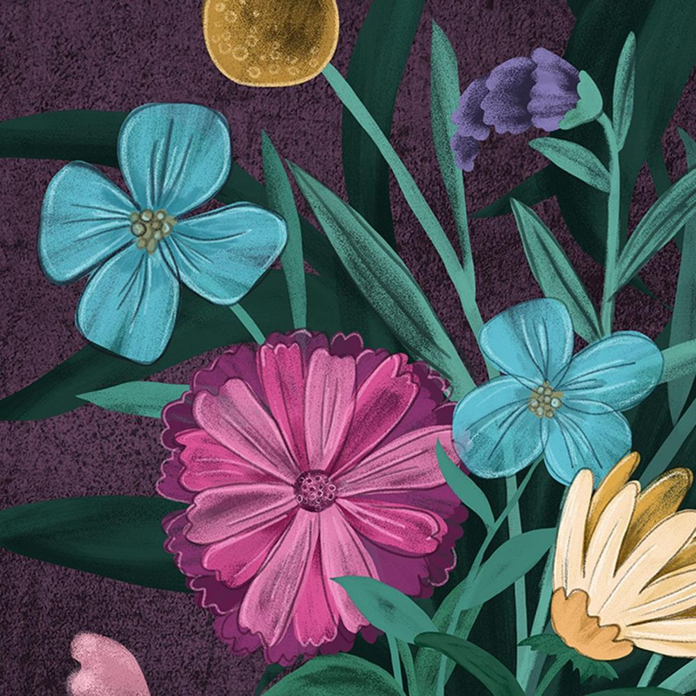 Moody Florals - image 2 - student project
