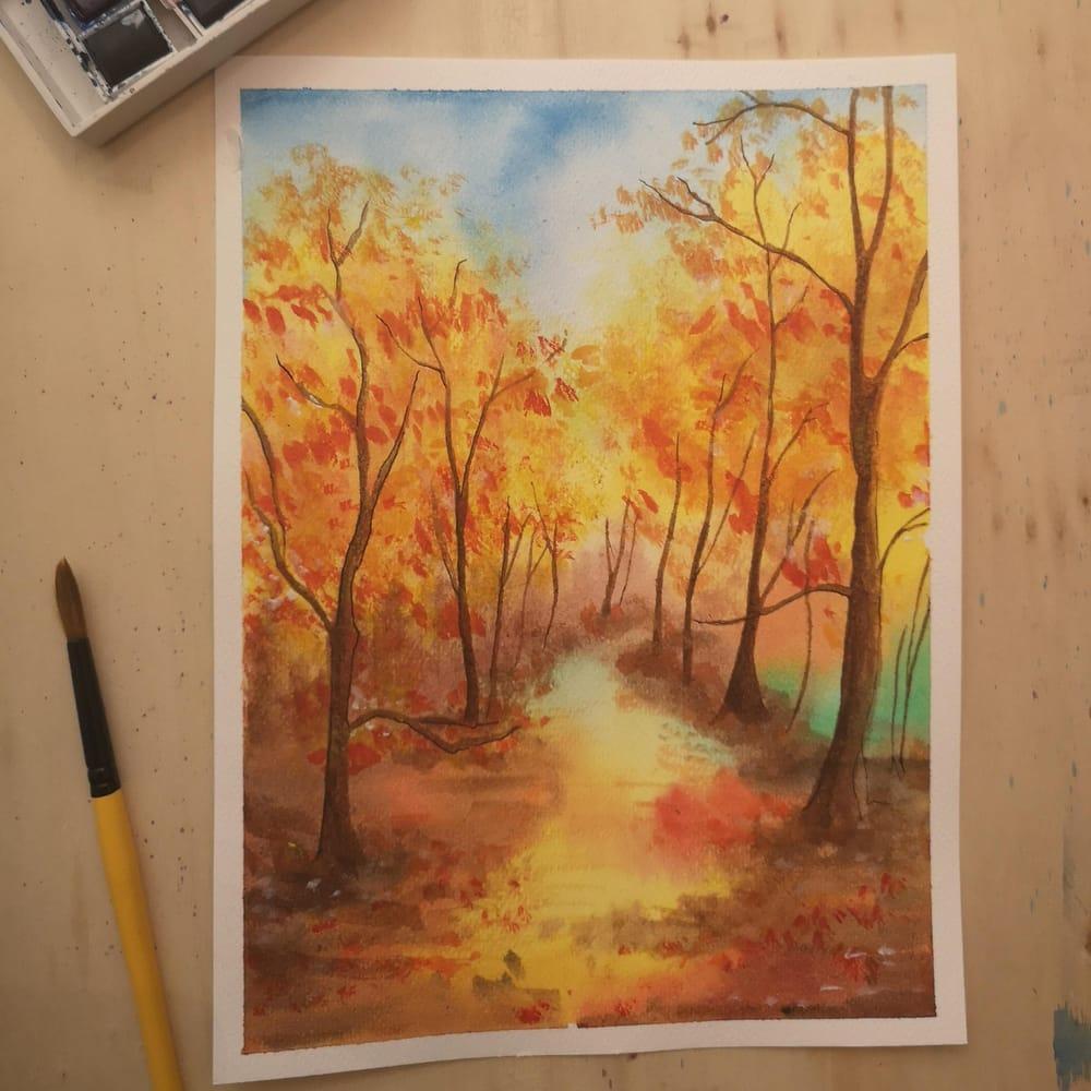 My autumn landscapes - image 1 - student project