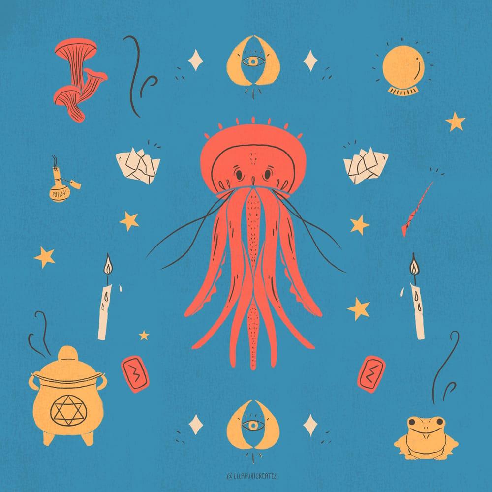 Magical ShellFish - image 2 - student project