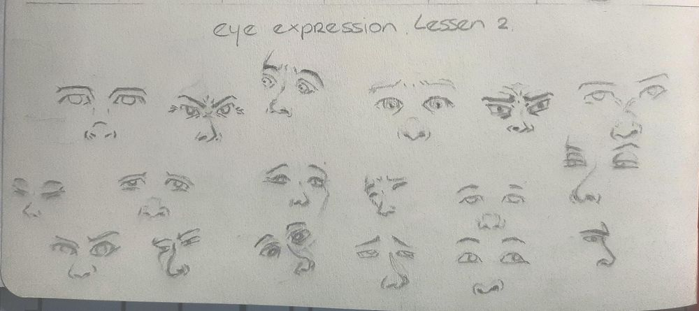 Lessons: Expression Teacher Dave Finch - image 1 - student project