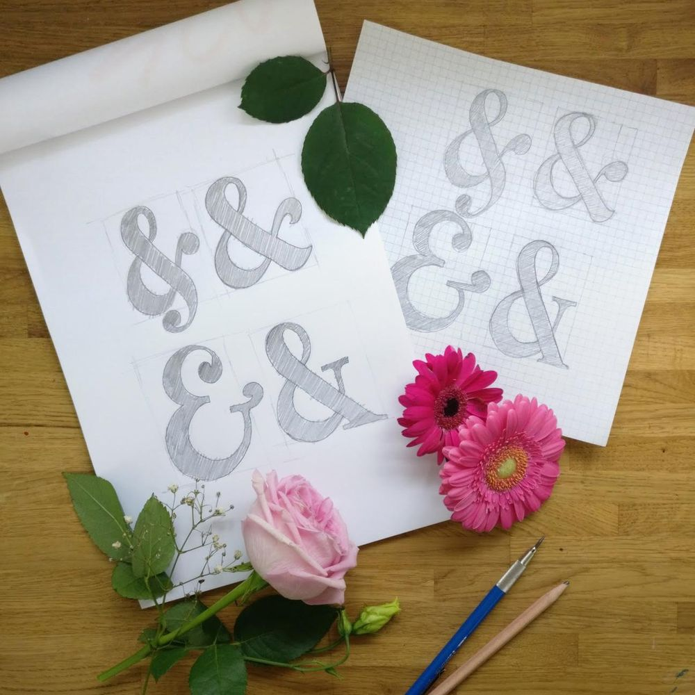 Floral Ampersand - image 1 - student project