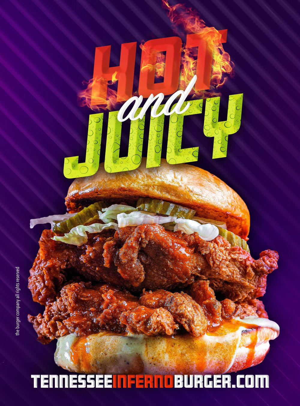Hot & Juicy Ad - image 1 - student project