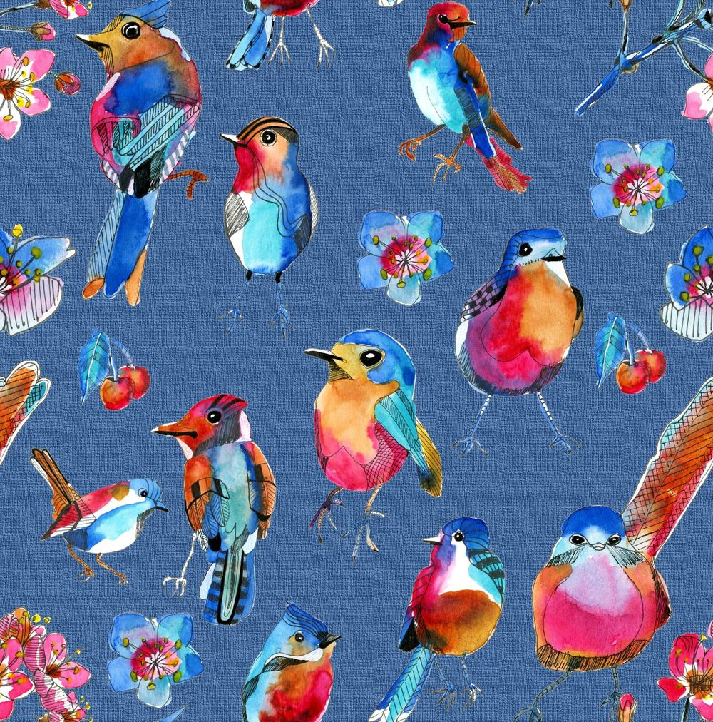 Spring birds - image 1 - student project
