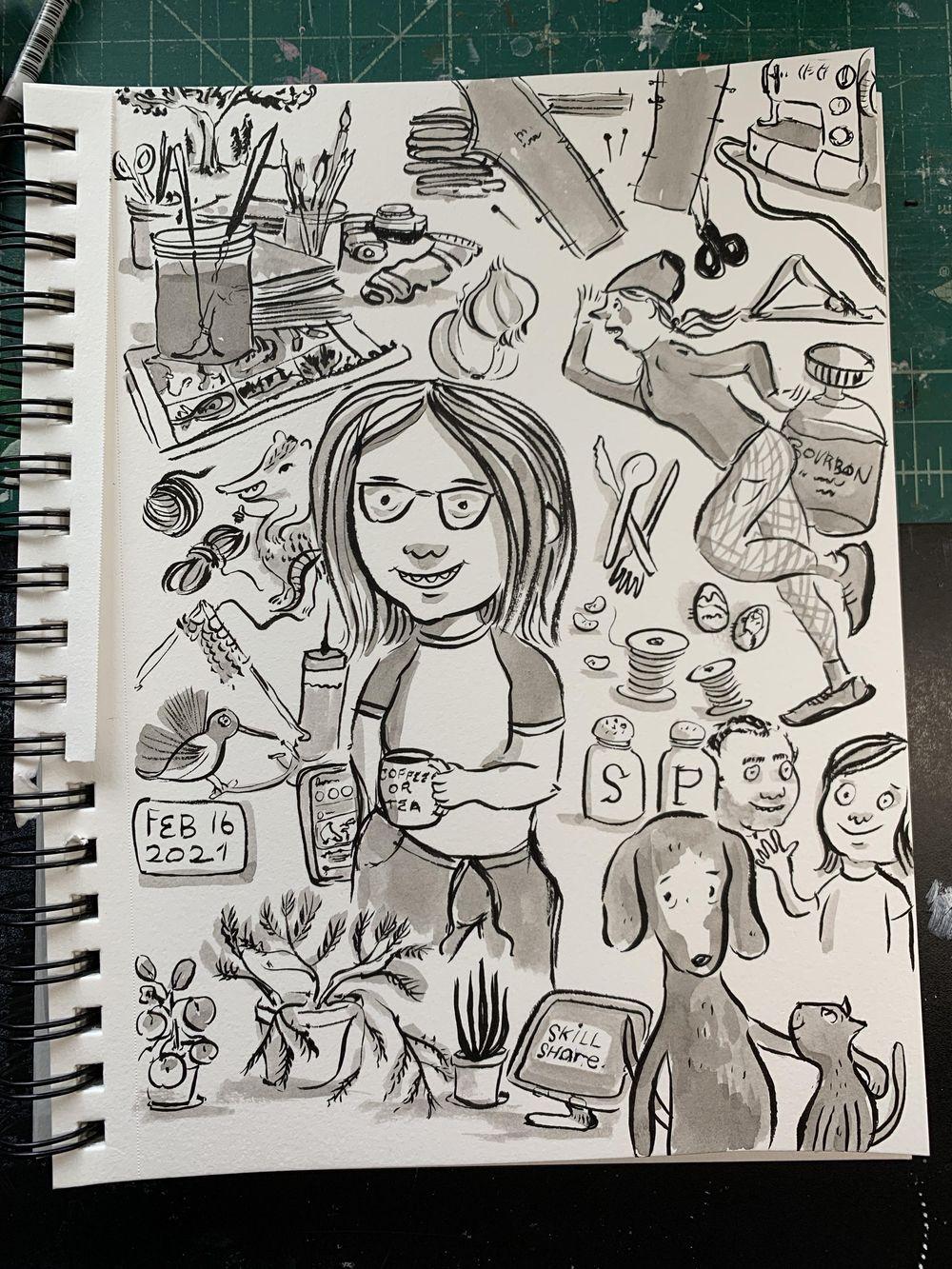 Sketchbook Challenge - image 10 - student project