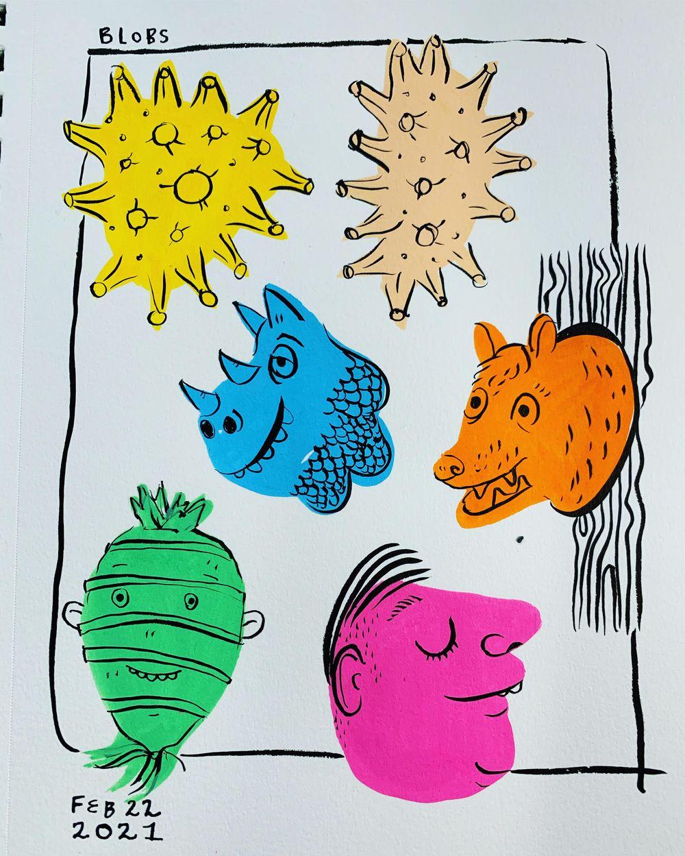 Sketchbook Challenge - image 4 - student project