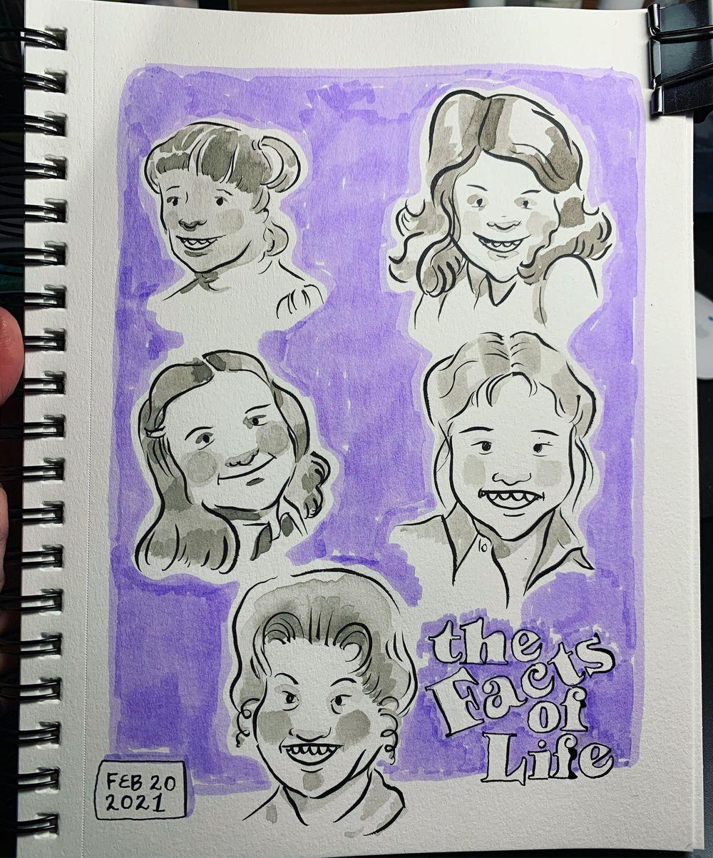 Sketchbook Challenge - image 6 - student project