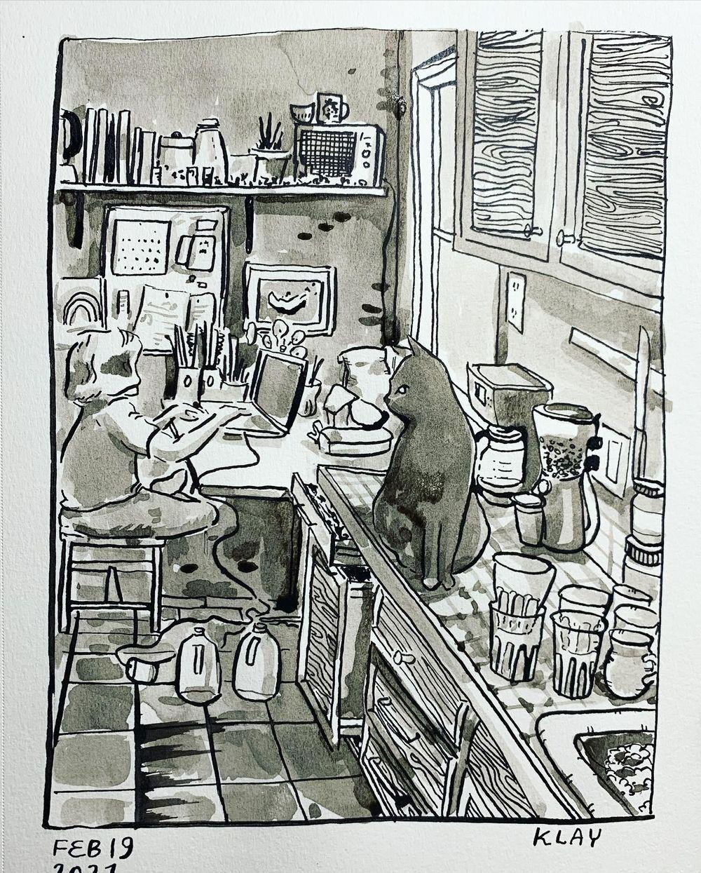 Sketchbook Challenge - image 7 - student project