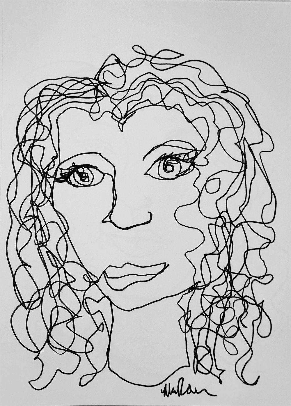 Line Self Portrait - image 1 - student project