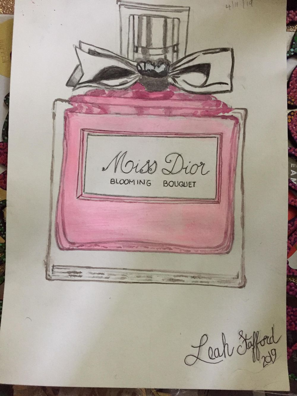 miss Dior bottle - image 1 - student project